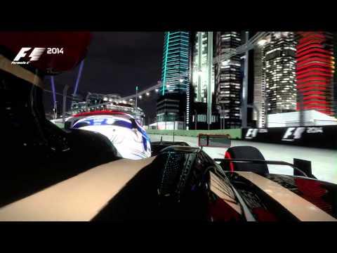 Геймплей игры F1 2014 - Singapore Hot Lap для Xbox 360