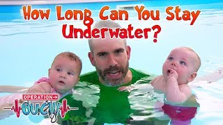 Download How Long Can You Stay Underwater?   Operation Ouch   Science for Kids Video