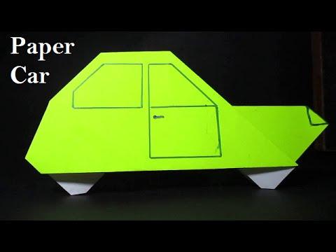 Origami Car - Easy Origami Car Instructions