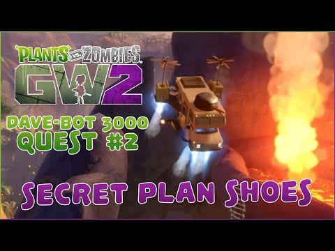 Plants vs. Zombies: Garden Warfare 2 | Dave-Bot 3000 Quest: Secret Plan Shoes