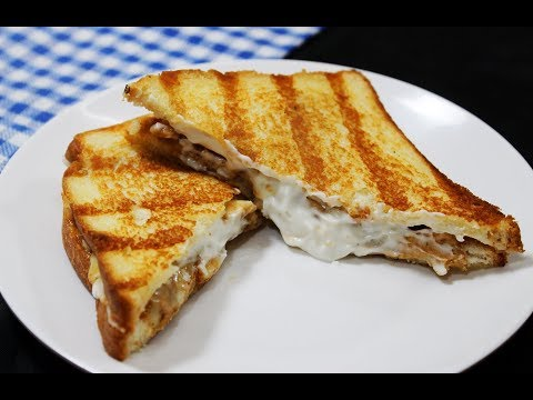 Chicken Grilled Cheese Sandwich - Chef Lall's Kitchen
