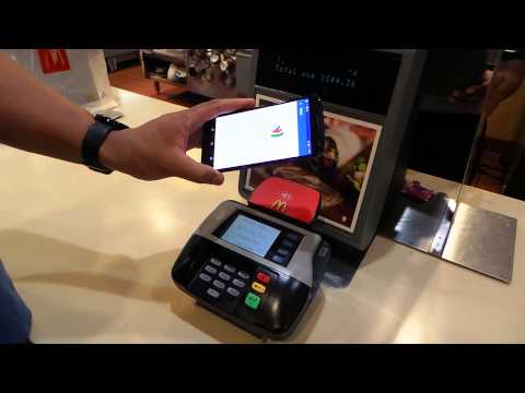 Google wallet tap tap tap to pay,  faster in McDonald's