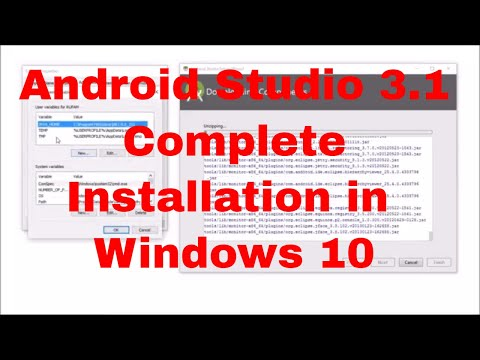 #1 Android studio 3.1 complete installation in Windows 10 |Install JDK| - 2019