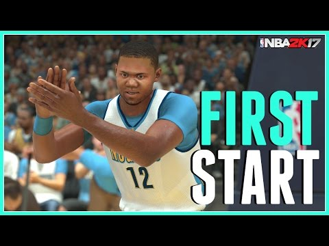 NBA 2k17 My Career Center - First Start (Xbox One)