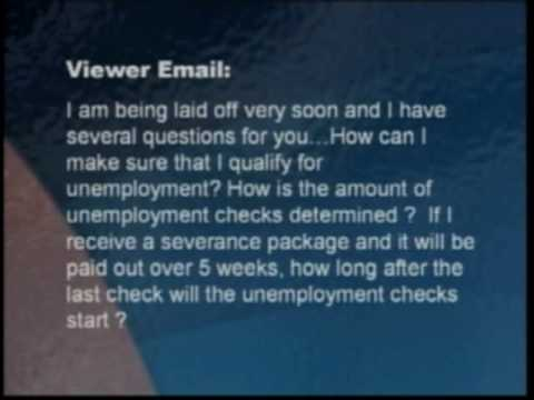 Viewer Question: Unemployment Qualifications & Payments.flv