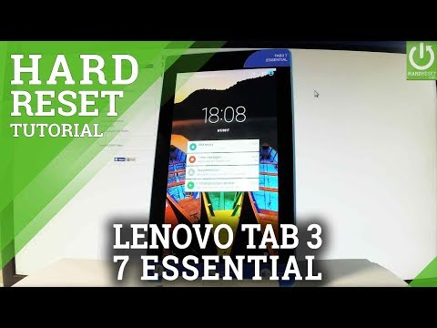 LENOVO Tab3 7 Essential HARD RESET / Bypass Screen Lock / Restore