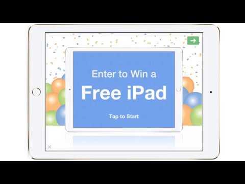 Enter to Win a Free iPad Survey Template - QuickTapSurvey