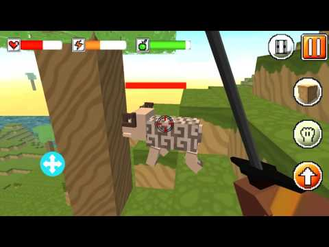 Let's Play! Cube World Survival Simulator (by GamesArcade) - IOS & Android gameplay video