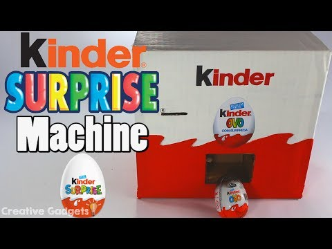 How to make Kinder Surprise Eggs Vending machine