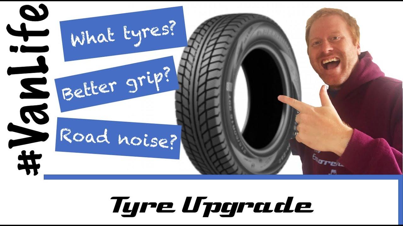 Van Tyres for offroad extra grip in Mud - RV Motorhome Campervan - All Season M&S, All Terrain