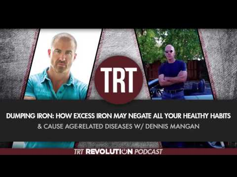 Dumping Iron: How Excess Iron Negates Healthy Habits & Causes Age-Related Diseases