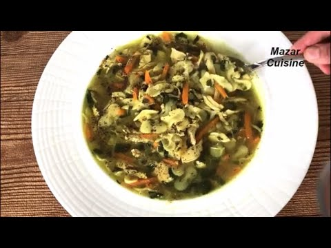 Chicken Noodle Soup Recipe سوپ مرغ Healthy Soup  Flu  ,Weight Loss ,Ramzan ,Special, Recipes
