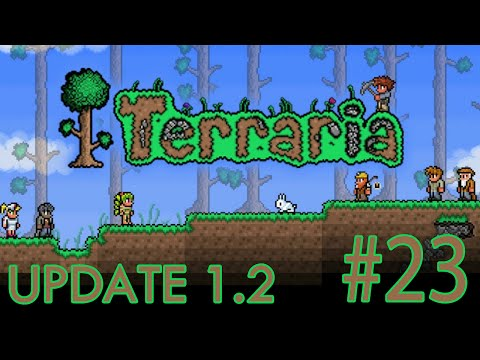 Terraria: iOS ANDROID UPDATE 1.2 - Join Local Server Glitch | Gameplay #23