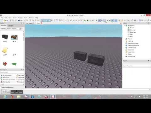 How to make a brick go through another brick ~ ROBLOX