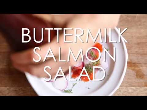 Buttermilk Salmon Salad