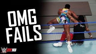 WWE 2K18 Top 10 OMG Moments Gone Wrong! (OMG Fails)