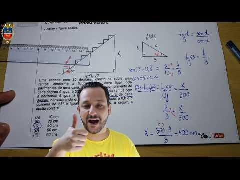 EAM 2016 | Trigonometria no Triângulo Retângulo | Prof. W4L