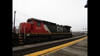 Railfanning Vancouver, Wa 1/20/19 Feat: Cn C40-8 & More!!!