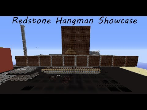 Redstone Hangman Showcase