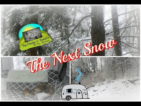 The next snow in our RV Life
