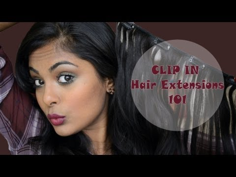 CLIP IN Hair Extensions (100% human hair (indian) from ABHair.com)
