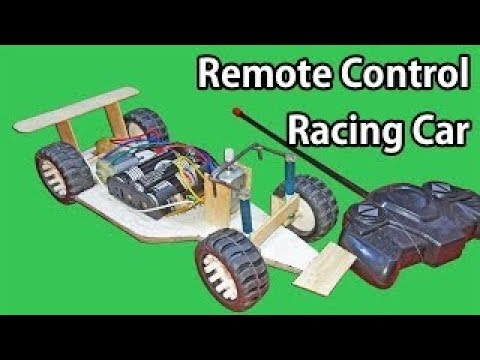 How to make a remote control car at home in easy way (DPDT Robot)
