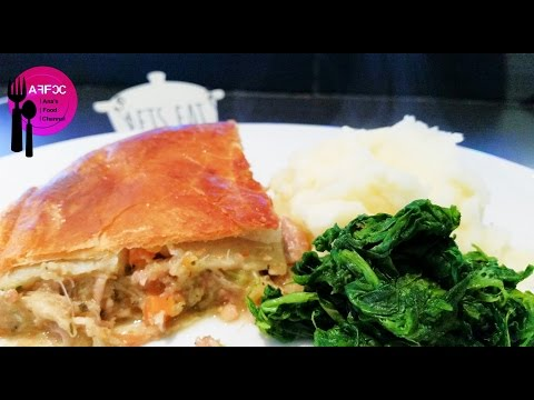 Ana's Food - Home Made Pork and Apple Pie