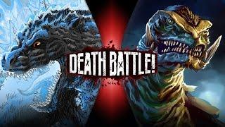 Godzilla VS Gamera   DEATH BATTLE!   ScrewAttack