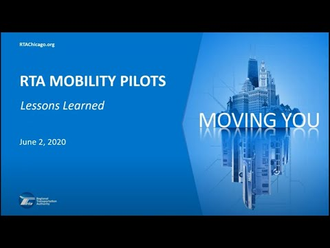 #TransportationTuesday:  RTA Mobility Pilots—Lessons Learned