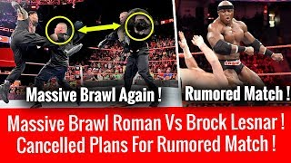 WWE Teased Reigns Vs Lesnar Massive Brawl ! Cancelled Plans For Huge Rumored Match in Upcoming PPV !
