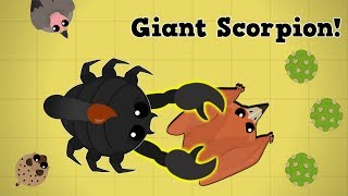 Download Mope.io New Giant Scorpion Dominates The Desert!! Best Animal In Mope? (Beta Giant Scorpion Update) Video