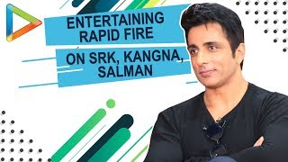 DON'T MISS: Sonu Sood's SURPRISING Question for Shah Rukh Khan | Rapid Fire