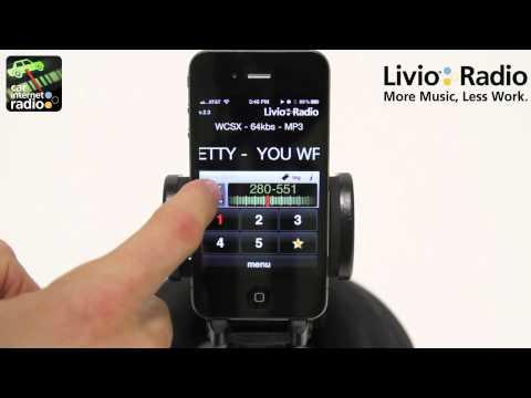 Car Internet Radio for iPhone by Livio Radio