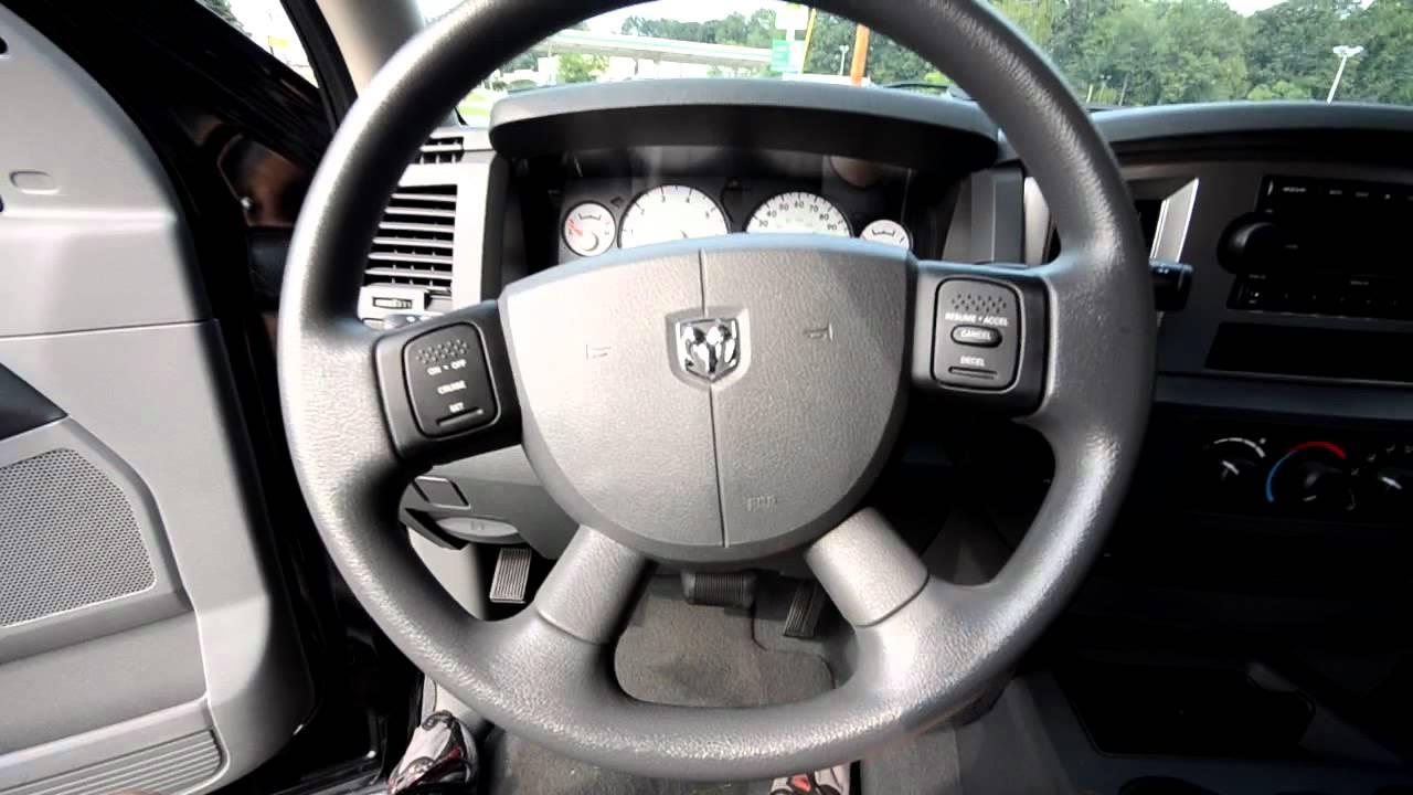 2007 Dodge Ram SLT 1500 QUAD CAB 4x4 (stk# P2454 ) for sale at Trend Motors Used in Rockaway, NJ