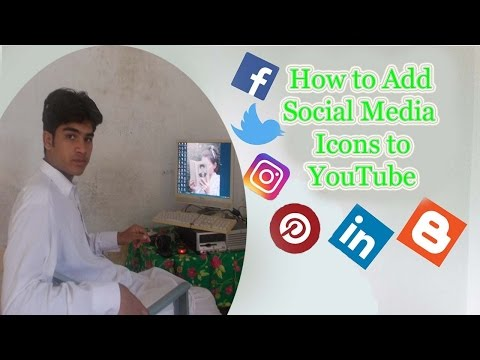 How to Add Social Media Icons to YouTube Channel Banner Step By Step(★Easily✔)