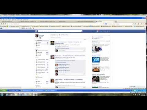 How to Create a Facebook Event and Invite All Your Friends At Once in Firefox