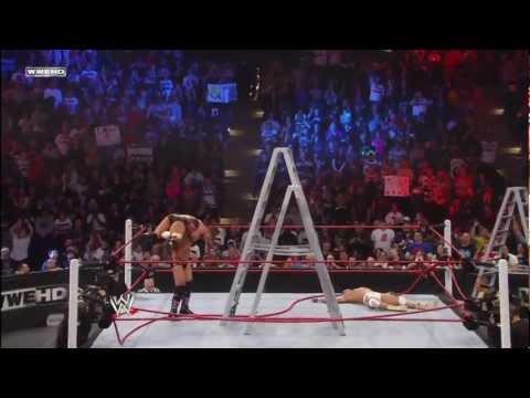 CM Punk vs. The Miz vs. Alberto Del Rio - WWE Championship TLC Match - TLC 2011 Ending