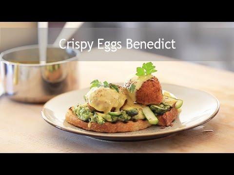 Crispy Eggs Benedict