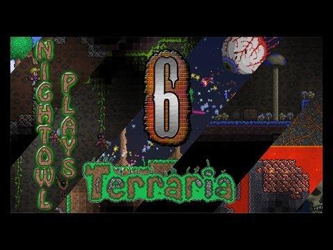 NightOwl Plays Terraria | S1 Ep.6: Gathering Jungle Spores