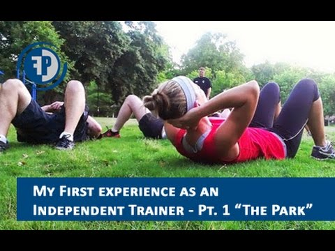 My FIRST experience as an INDEPENDENT personal trainer