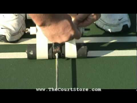 Tennis Court Lines (How To Mark, Tape And Paint) Part 2 Of 2