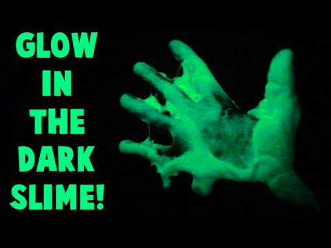 How to Make Glow in the Dark Slime Using Glow Pigment Powder Easy DIY Tutorial!