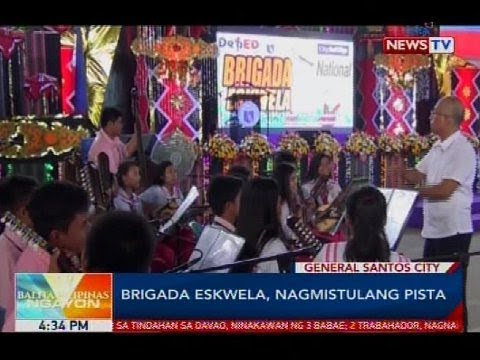 Brigada Eskwela, nagmistulang pista