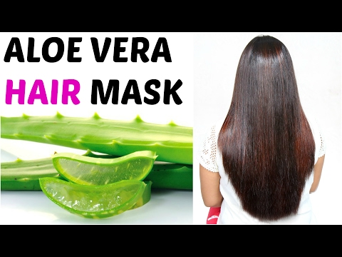 ALOE VERA Hair Mask - How To Get Long, Silky, Shiny Hair | ShrutiArjunAnand