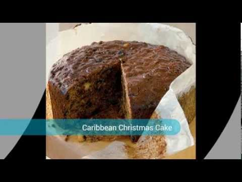 English Caribbean Christmas Cake