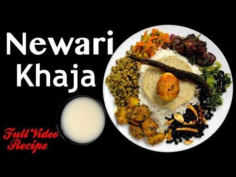 Newari Khaja Set | Samaye Baji | Full Video Recipe - Yummy Food World🍴121