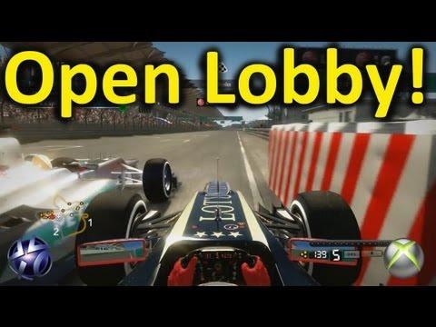 F1 2012 Open Lobby Highlights PS3 & Xbox 360