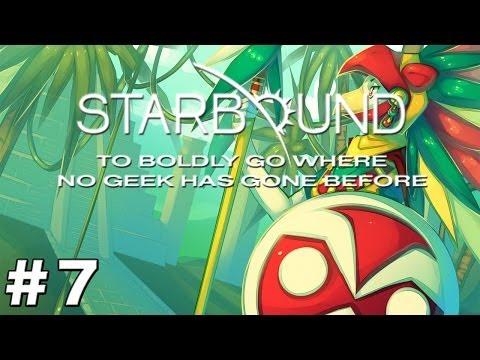 Starbound Beta - Episode 7 - Glitch Village Raid