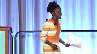 Amanda Gorman, National Youth Poet Laureate at Summer Academy 2018