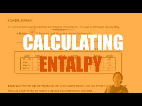 How to calculate enthalpy using bond dissociation energies